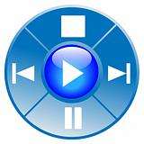 Multimedia interface icon