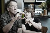 Couple at Home with Medication