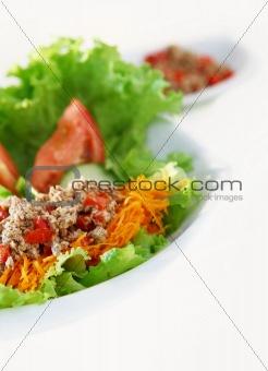 fish appetizer salad