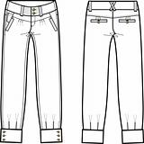 lady denim jeans with details