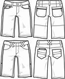 lady fashion shorts
