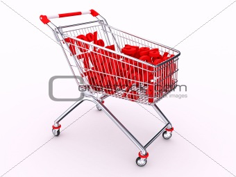 Cart with discounts