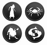 zodiac signs - set 2