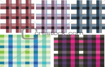 ckeck pattern in different style