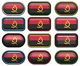 twelve buttons of the Flag of angola