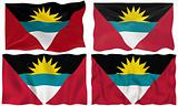 Flag of antigua barbuda