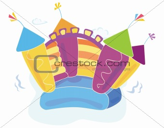Vector bouncy castle