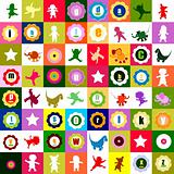 colorful pattern for kids