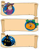 Halloween banners collection 5