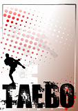 Taebo Silver Poster Background 2