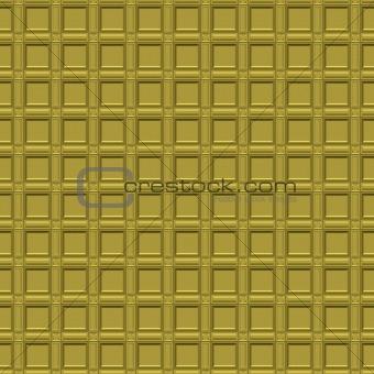 gold ornamental maze pattern