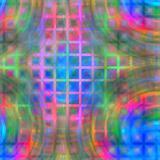 colorful swirls on maze
