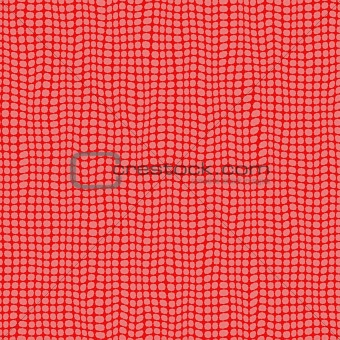 red dots curtain