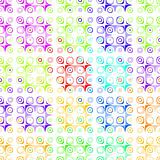 retro dots pattern