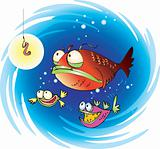 Suspiciuos fish