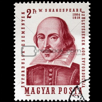 Shakespeare Stamp