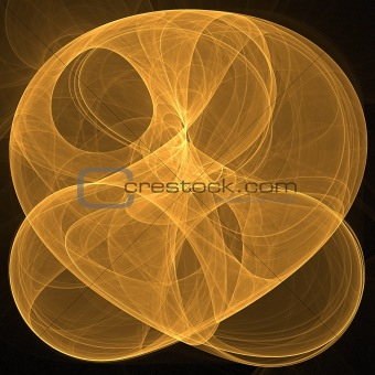 Abstract elegance background. Orange - black palette.