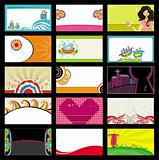 15 colorful business cards 1