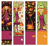 Fashion fall banners
