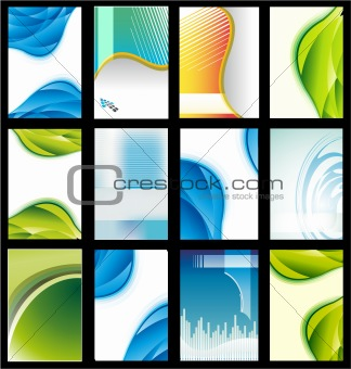 Abstract Elegant Collection of Business Card
