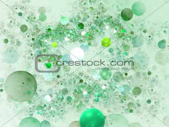 Abstract elegance background. Green - white palette.