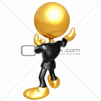 3D Businessman Character
