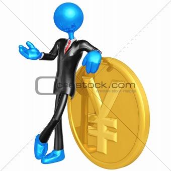 3D Businessman Character