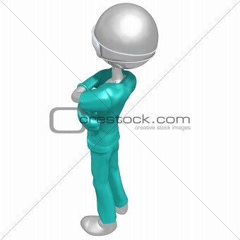 3D Doctor Character