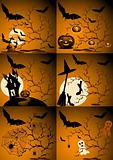 set of  Halloween image