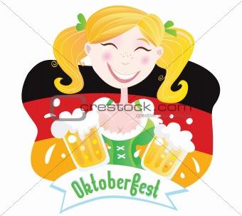 Oktoberfest (Bavarian female)