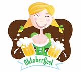 Octoberfest (Bavarian girl)