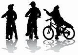Cyclists group teen