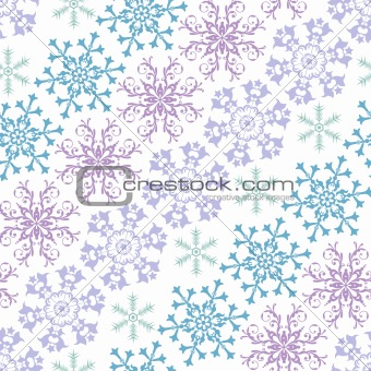 Abstract pastel seamless pattern (vector)