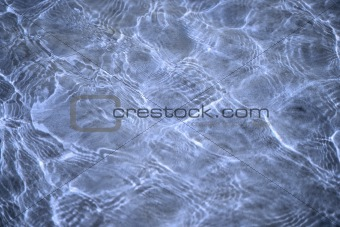 Abstract violet background by sunlight on water surface