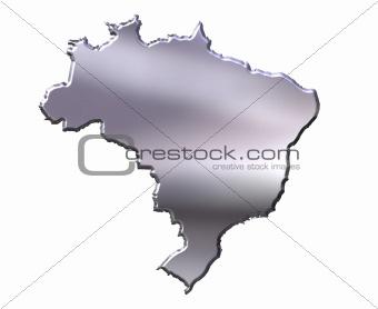 Brazil 3D Silver Map