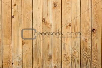 Background from pine boards with knots
