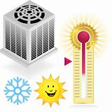 Air Conditiong Icon Set