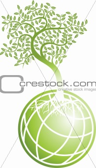 Green Globe with