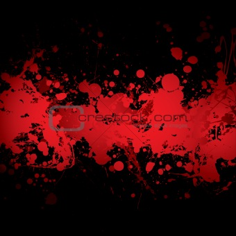 blood banner red