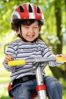 Little biker