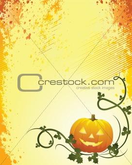 Halloween grunge