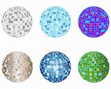 disco spheres set