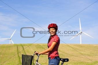 Sustainable future concept