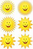 Set of 3D Suns