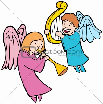 Angels Playing Instruments