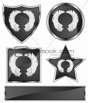 Black Satin - Wings