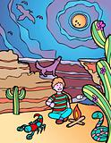 Kid Adventure: Desert Campground