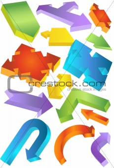 3D Shapes Set