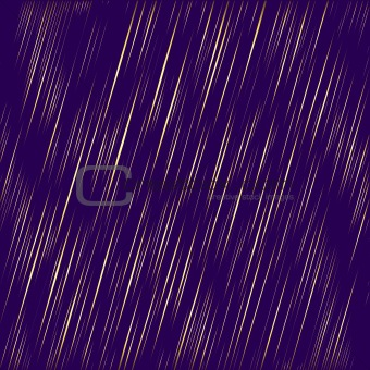 Abstract golden rain (vector)