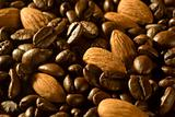 Coffee Beans and Almonds